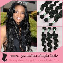 Unprocessed loose wave virgin remy peruvian hair