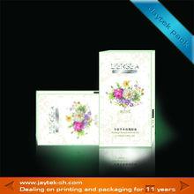 paper herbage rose essential oil packaging