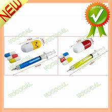 Eraser + Mechanical Pencil + Ball Point Pen