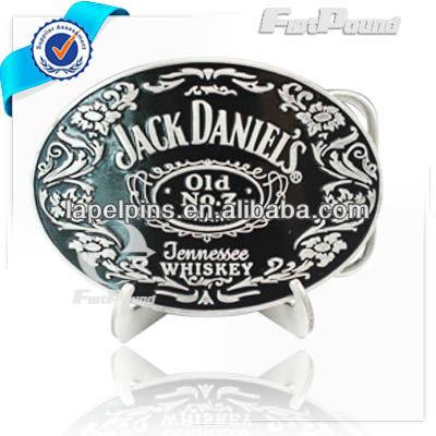 Jack Daniels Metal Belt Buckle