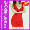 Red Designer One Piece Party Dress