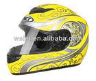 White ECE Full face helmetmotorcycle helmet bluetooth intercom
