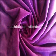 New design dense korean velvet fabric for suit fabric