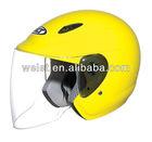 Half face helmet inflatable sports football helmet