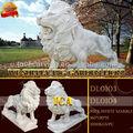 Ica, Decorativo lion, Hechos a mano estatua del león, Para caminar león estatua