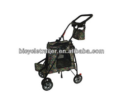with rear parking brakes pet trailer