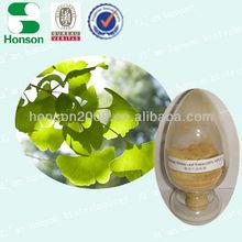 Ginkgo Flavone Glycosides 24% from Ginko Biloba Extract Ginko Biloba P.E.