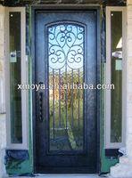 Decorative French Metal door window insert
