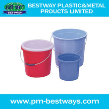 2013 hot sale high quality steel handle recycled heat transfer plastic pail mould