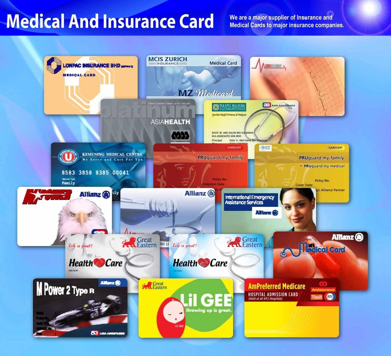 Medical Insurance: Medical Insurance Card