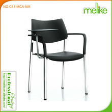 Alvin modern design plastic table chairs , suitable for school or training room C11-MCA-NM