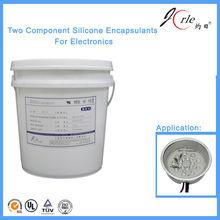 Colloidal silica glue for electronic