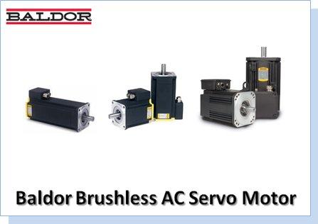 Baldor Brushless Ac Servo Motor