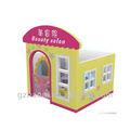 A-09804 barato para niños de madera muebles de casa de muñecas