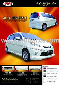 Perodua Alza Body Kit
