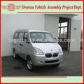 Euro iv 8 estándar de asientos de motor de gasolina de un/c chana mini van