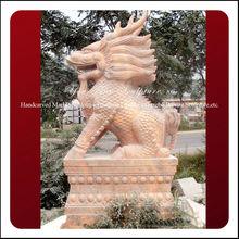 Natural Modern Garden Carved Stone Animals