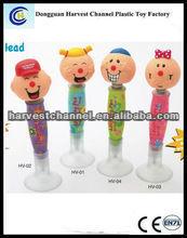 Carton character plastic ball pen