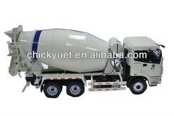 1:24 die casting mixer Foton truck model