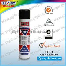 temporary embroidery spray adhesive
