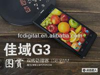 MTK6589 mobile phone Quad Core Jiayu G3S MTK6589 cellphone