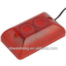 China Electronic mini strobe siren home security
