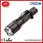 10w 1000 lumen cree led multi-function police flashlight
