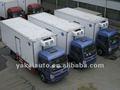 Mobile caminhão de alimentos, peixe vivo transportes. Van refrigerada