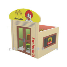 A-09807 Modern Fashion Doll House With Furniture