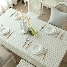 European style plaid table cloth