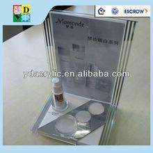 High quality custom clear acrylic makeup organizers,New arrival popular bottle acrylic display