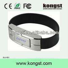 professional usb storage supplier,leather wristband bracelet usb flash drive 64gb 32gb 16gb real capacity usb drive with logo