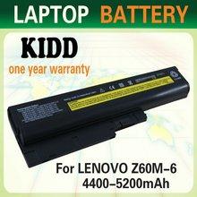 For Lenovo/ibm Thinkpad Z60m Z61e Z61m Laptop Battery