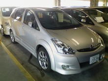 2006 TOYOTA WISH PS PW AW AAC TV NG USED CAR