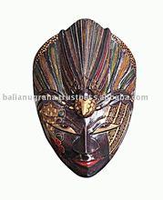 Batik Wooden Mask Wall Hanging