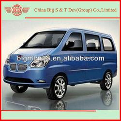 2013 blue petrol driven passenger mini van for sale