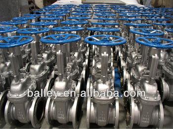 API 600 WCB/SS gate valve,150LB-600LB,Handwheel &Gear operated.