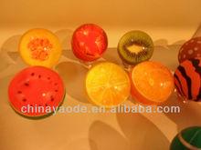 fruit rubber bouncy ball fruit bouncing ball
