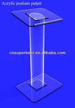 Large acrylic lectern podium pulpit