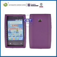 For silicone LG Optimus L3 E400 case cover