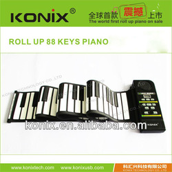 2013 hottest selling 61keys piano keyboard midi for promotion
