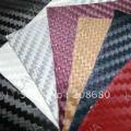 1.27*1M 3D carbon fiber film/panel face deco artion/carbon fiber pole--14 color option self adhesive vinyl