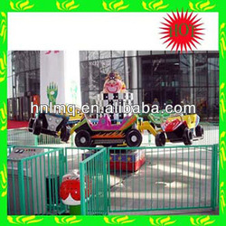The most funny funfair ground kids games electric cars jumping crazy car for sale!