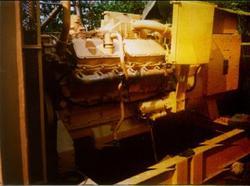 Used Caterpillar Diesel Generator Set 500 KVA