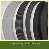 D profile brown color EPDM sealing tape