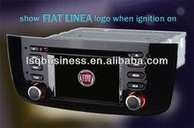 Car audio player/smart TV/GPS/car stereo/car camera/Bluetooth driver/IPOD for Fiat Linea,ST-840