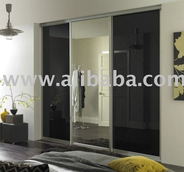 Mirror Wardrobe Door - Internal, Bathroom, Built-in, Timber, Measure