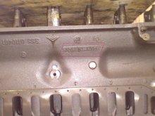 OM 355 Cylinder Block