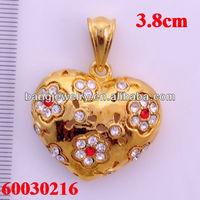 Floating charm pendant design traditional jewellery