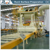 Roller Conveyor Sand Blasting and Painting Machine for Steel Plate